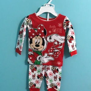 NEW - Disney Infant Girl Pajamas